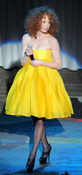 Struwwel gelbes Kleid